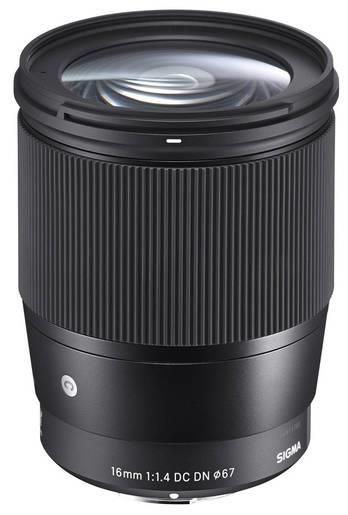 Sigma 1,4/16 mm DC DN Sony E Contemporary, Objektiv