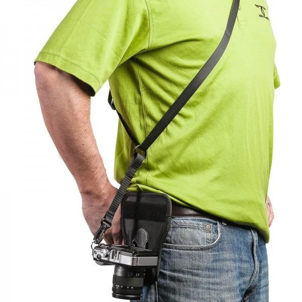 Cotton Carrier Wanderer Side Holster Gürtel-Tragesystem für 1 DSLR- oder DSLM-Kamera