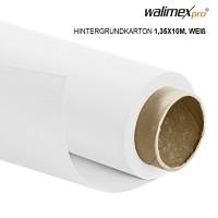 Walimex pro Hintergrundkarton 1,35x10m, weiß