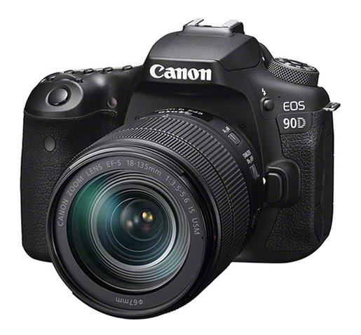 Canon EOS 90D+EF-S 3,5-5,6/18-135 mm IS USM Kit