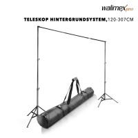 Walimex pro TELESKOP Hintergrundsystem 120-307 cm