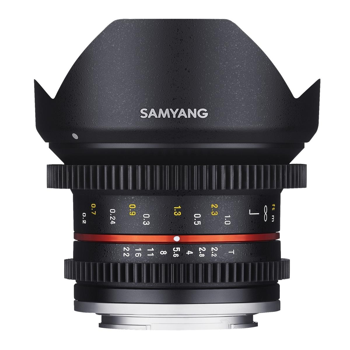 SAMYANG MF 12mm T2,2 Video APS-C Fuji X