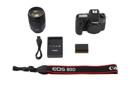 Canon EOS 80D Kit 18-200 mm IS