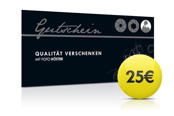Foto Köster Gutschein 25,00 Euro