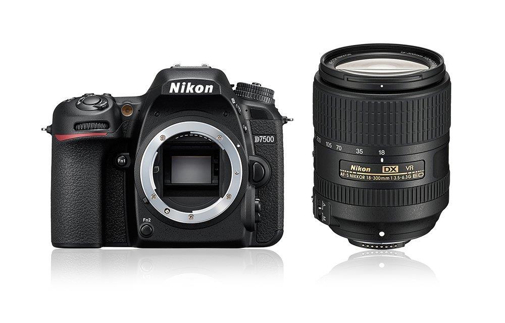 Nikon D7500 + AF-S DX 18-300 mm 1:3,5-6,3G ED VR