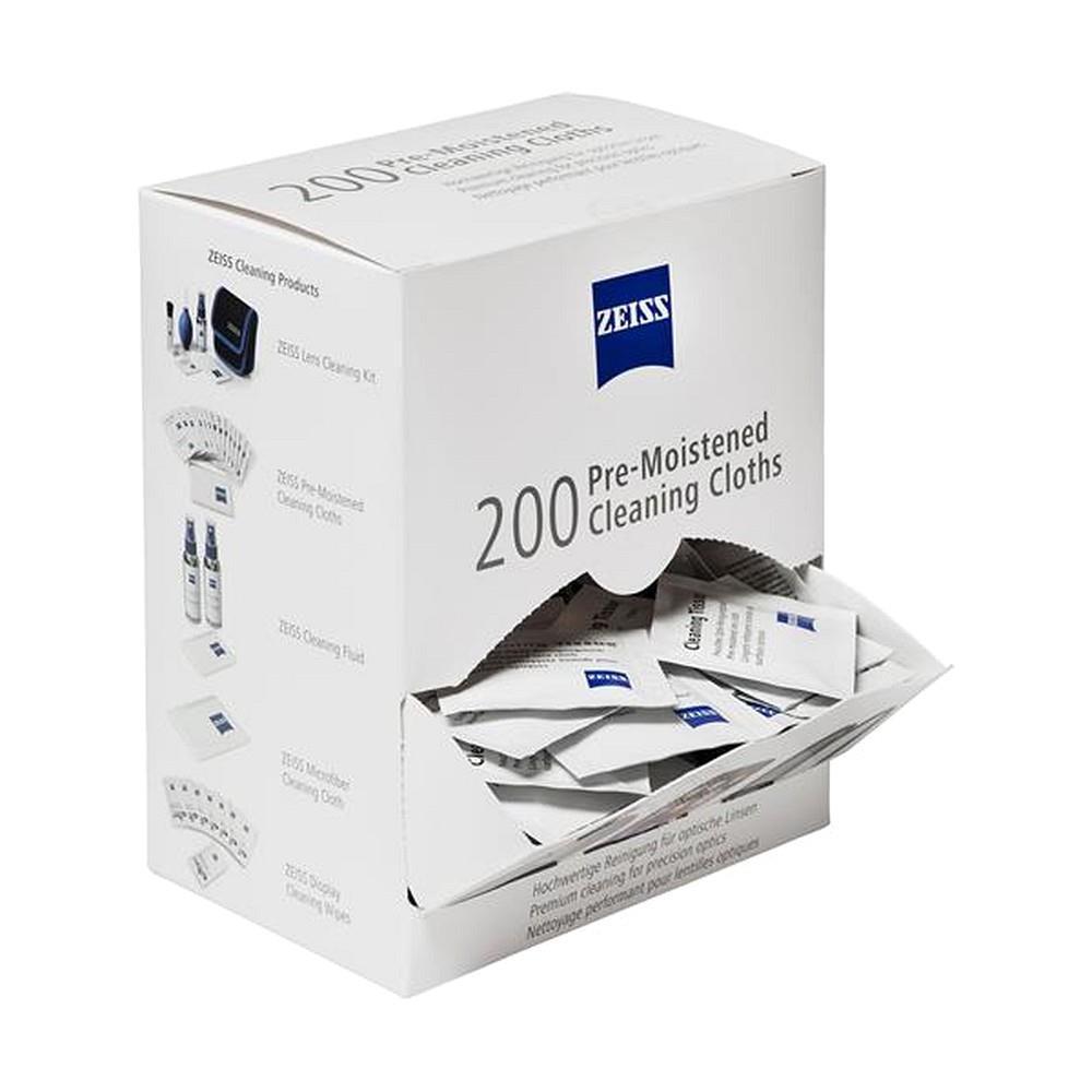 ZEISS feuchte Reinigungstücher 200 Stück