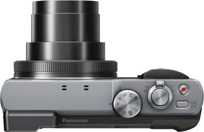 Lumix TZ81 schwarz/silber (DMC-TZ81EG-S)