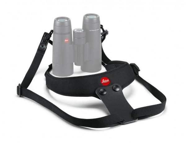 Leica Neopren Fernglasgurt Sport, nachtschwarz