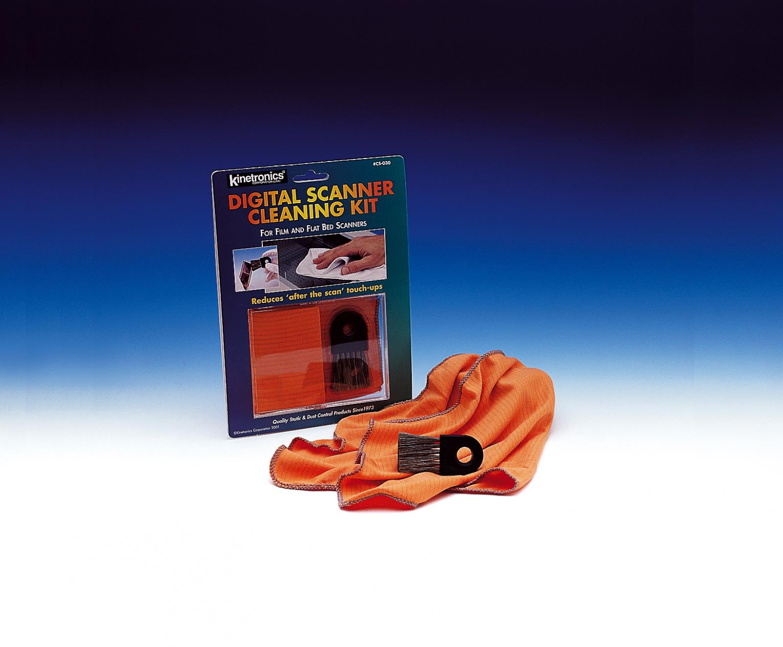 Kaiser Fototechnik Digital Scanner Cleaning Kit CS-030, bestehend aus Antistatik-Bürste SW-030 und