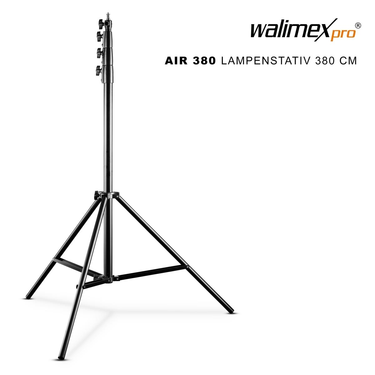 Walimex pro AIR 380 Deluxe Lampenstativ 380 cm