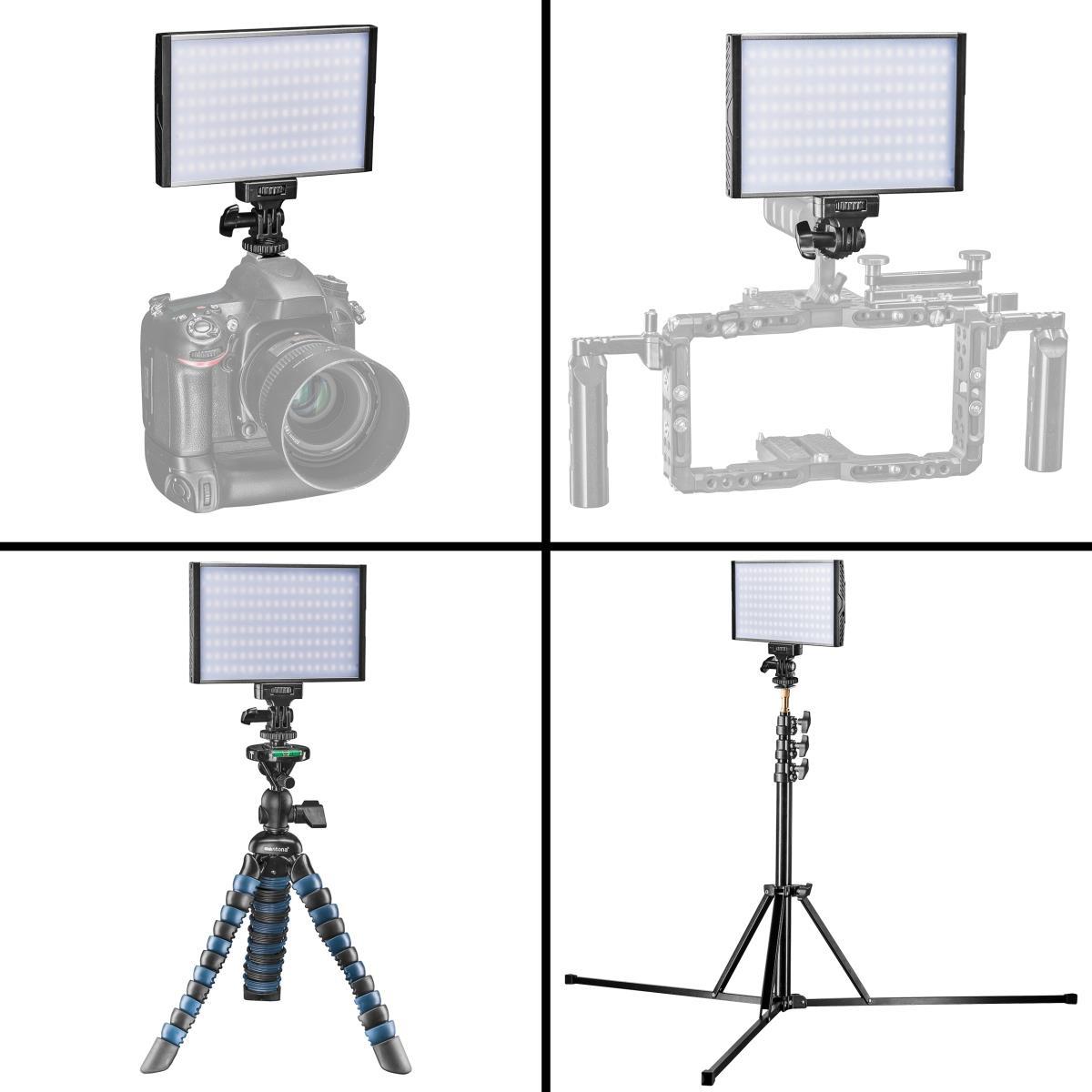 Walimex pro Niova 150 Bi Color 15 W On Camera LED