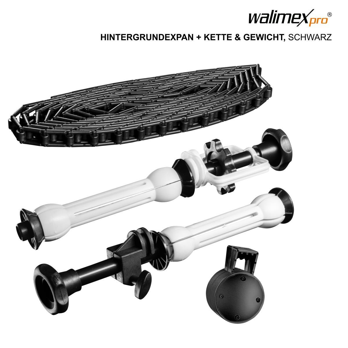 Walimex pro Hintergrundexpan Kette Gewicht schwarz