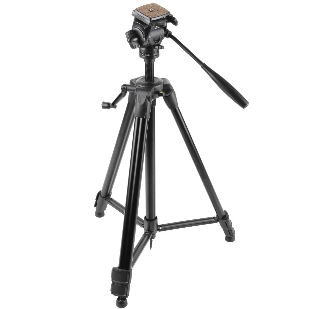 Walimex pro Walimex FW-3970 Semi-Pro Stativ mit 3D-Neiger 172cm schwarz