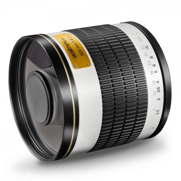 500/6,3 CSC Spiegel Fuji X weiß