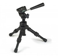 Kamera-Tischstativ DSLR, mit Schwenk-/Neigekopf, Höhe ca. 18-30 cm. Inkl. Tragetasche