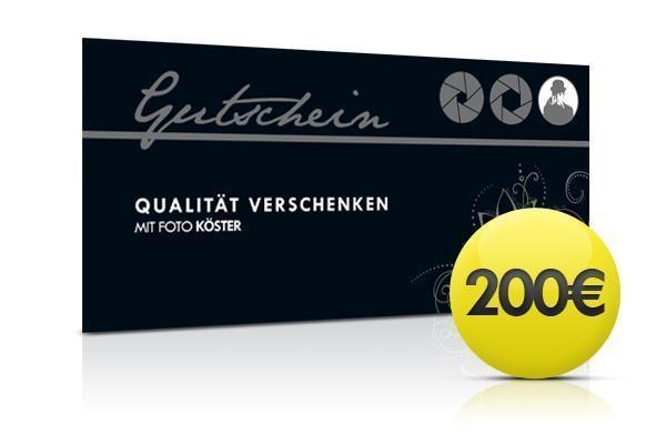 Gutschein 200,00 Euro