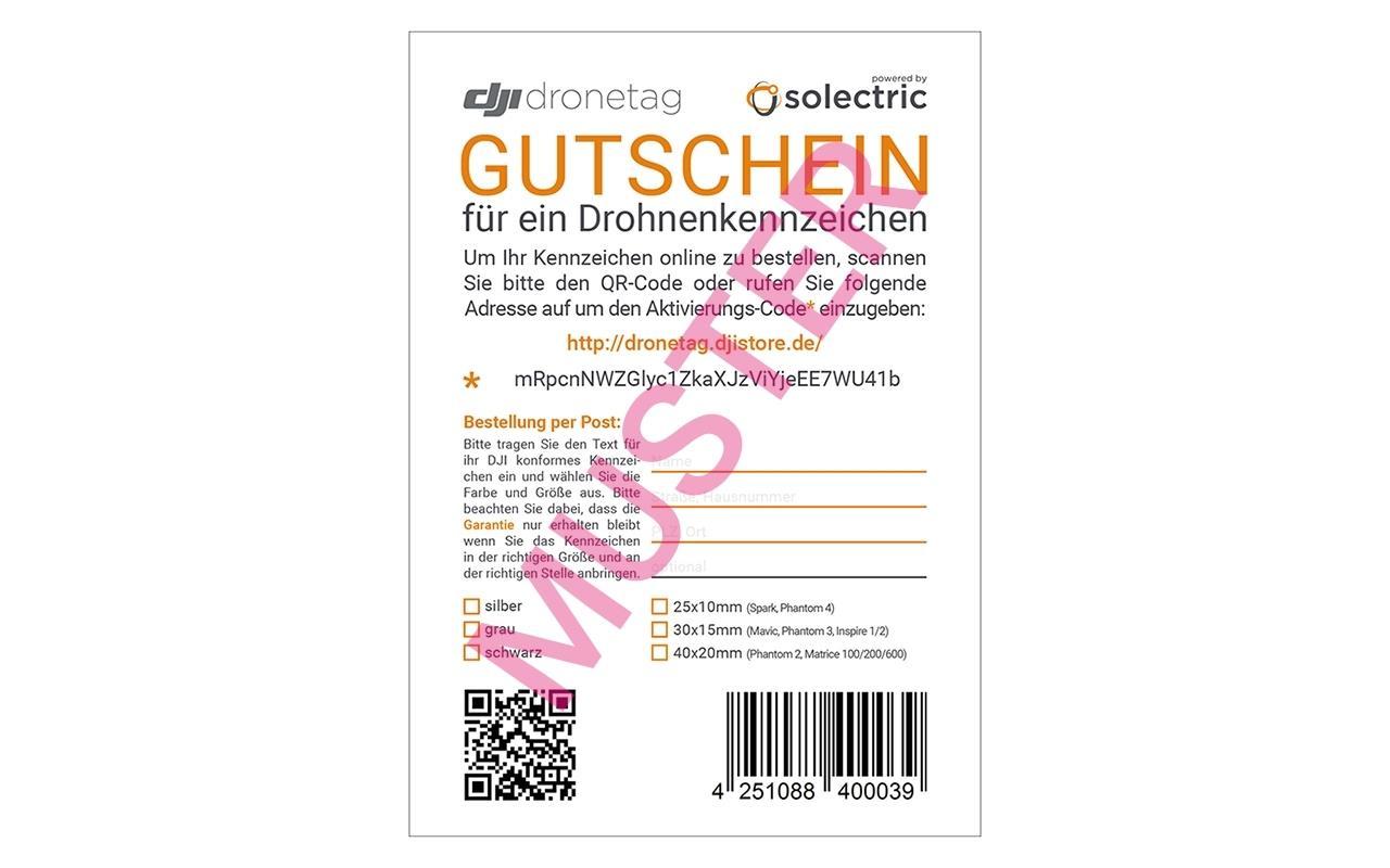 CYTRONIX Gutschein DJI Drohnenkennzeichen