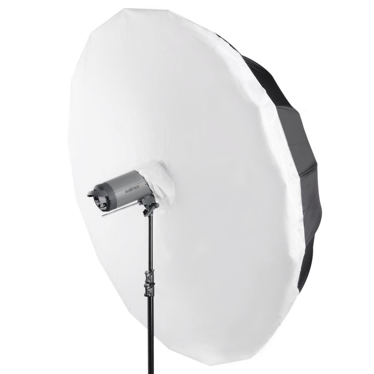 Walimex pro Reflexschirmdiffusor weiß, Ø180cm