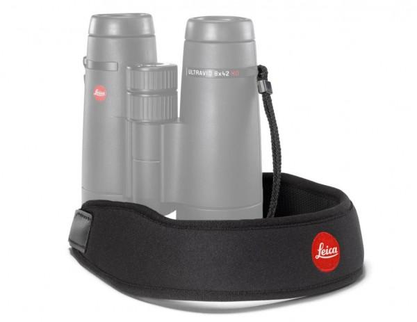 Leica Neopren Fernglasgurt, nachtschwarz