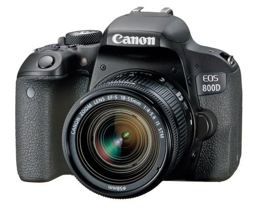 Canon EOS 800D+EF-S 4,0-5,6/18-55mm IS STM Kit