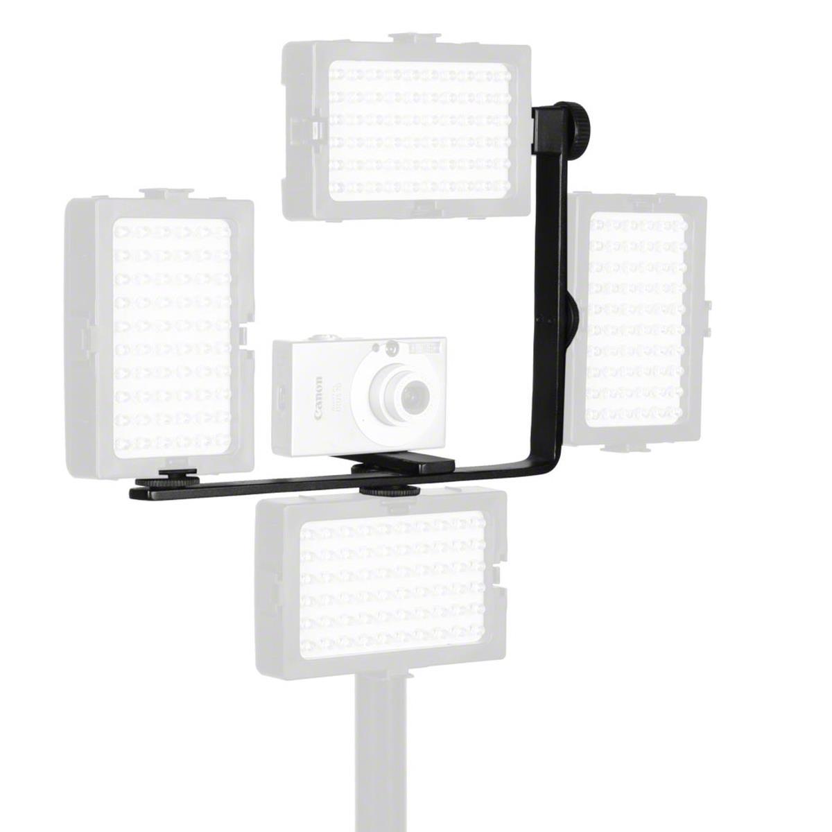 walimex Hilfseckschiene gewinkelt, für max. 4 LED