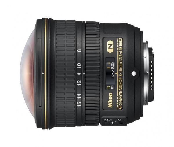 Nikon AF-S 3,5-4,5/8-15 ED Fisheye