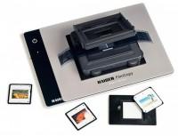 FilmCopy Vario Kit, bestehend aus FilmCopy Vario (2457)  und Leuchtplatte slimlite plano (2453)