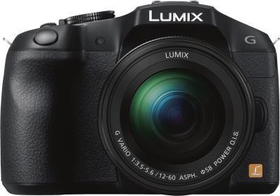Panasonic Lumix DMC- G6 Kit schwarz 3,5-5,6/12-60