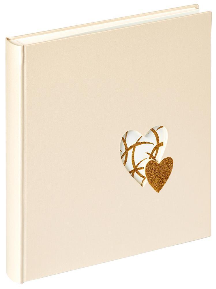 Walther Hochzeitsalbum Heart of Gold, 28x30,5 cm