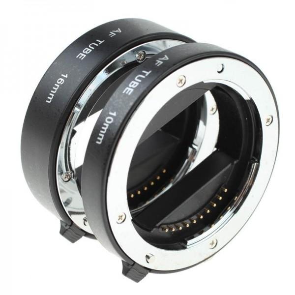 Quenox Autofokus-Zwischenringe für Sony (NEX/Alpha) E-Mount