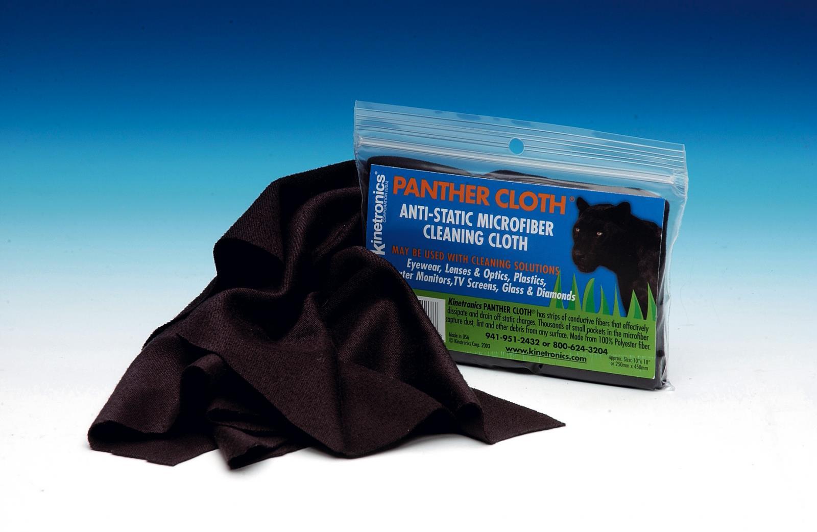 Kaiser Fototechnik Antistatik-Tuch Panther Cloth, für den Einsatz mit Flüssigkeiten PC-BP, 250 x 450
