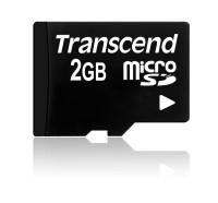 Transcend 2 GB microSD-Karte Standard