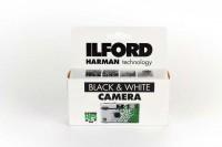 Ilford HP5 Einwegkamera mit Blitz 400 ASA / 27 Aufnahmen black & white
