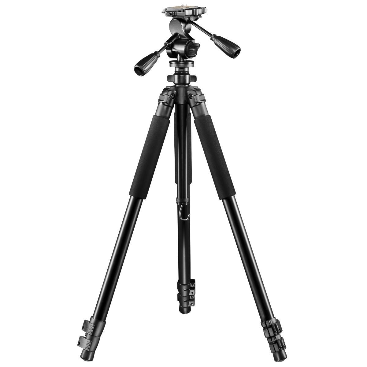 Walimex pro FT-665T Pro Stativ mit FT-6653H Aluminium Pro-3D-Neiger, 198cm