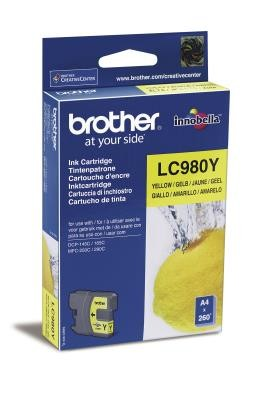 Brother TIN BROTHER LC-980Y yellow LC980Y