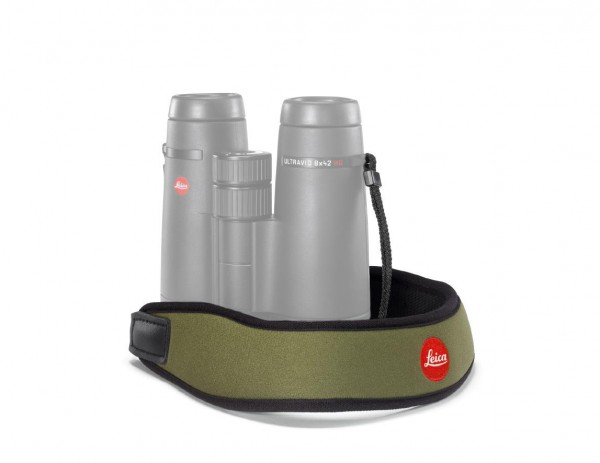 Leica Neopren Fernglasgurt, olivgrün