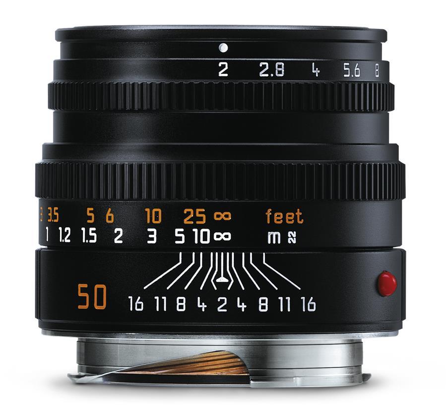Leica SUMMICRON-M 1:2/50, schwarz eloxiert
