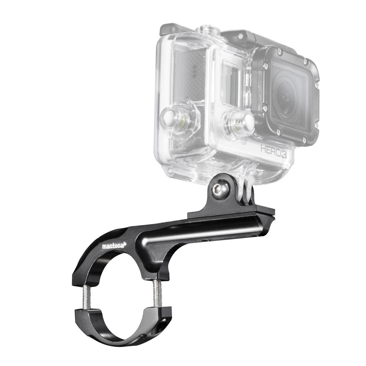 Mantona Fahrradhalterung ALU Maxi für GoPro 20549