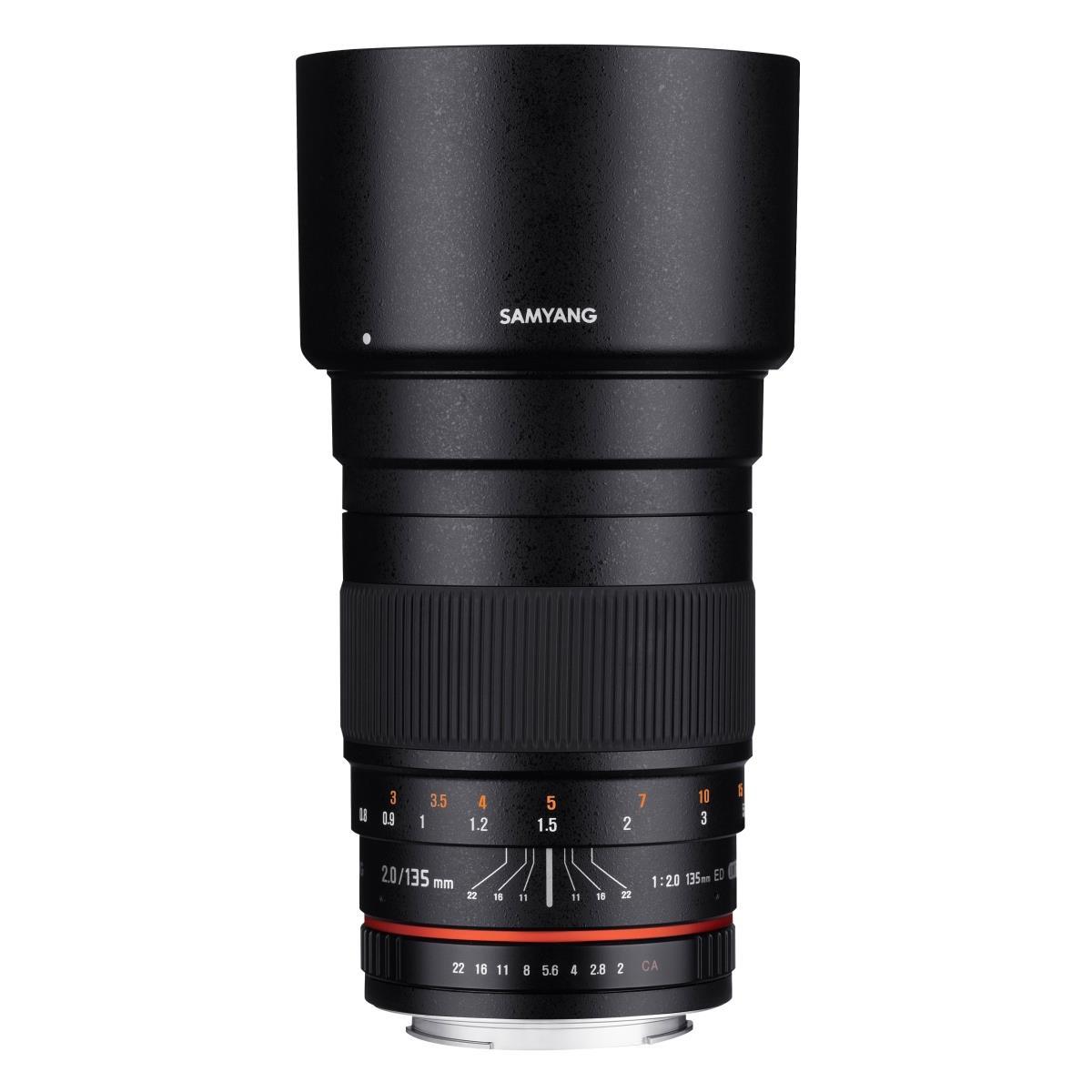 SAMYANG MF 135mm F2,0 Canon EF