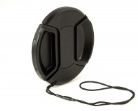 Objektivdeckel Snap-On 49 mm, mit Sicherungskordel