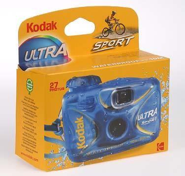 UltraSport, 800 ASA, 27 Aufnahmen,                bis 15 m wasserfest