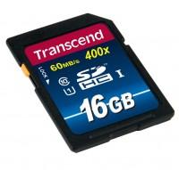 Transcend 16 GB SDHC Class10 UHS-1 400x