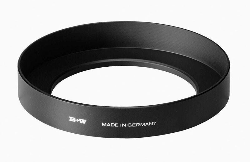 B+W Weitwinkel-Blende Alu (970) 52 mm