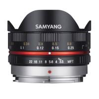 Samyang MF 7,5mm F3,5 Fisheye APS-C MFT schwarz