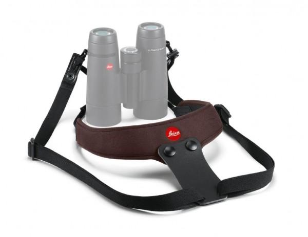 Leica Neopren Fernglasgurt Sport, schokoladenbraun