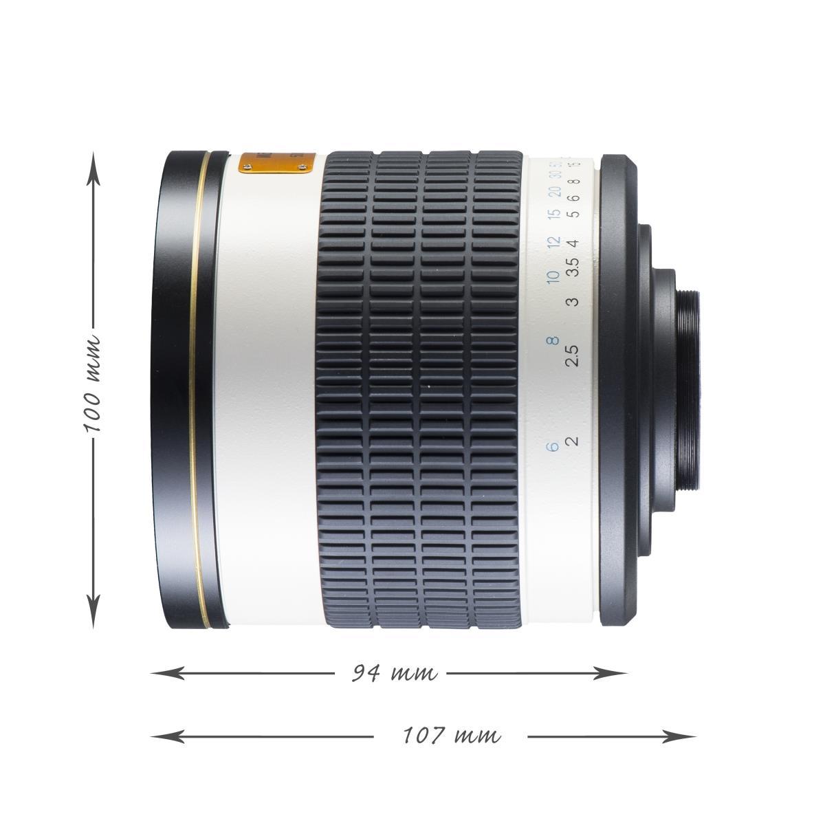 Walimex pro 800/8,0 DSLR Spiegel Pentax K