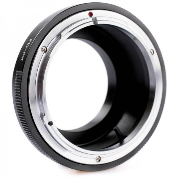 Quenox Adapter für Canon-FD-Objektiv an Fuji-X-Mount-Kamera