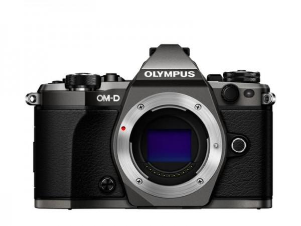 OM-D E-M5 Mark II Limited Edition Titanium Gehäuse