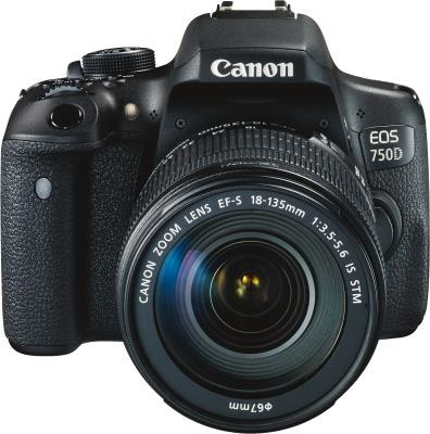 Canon EOS 750D + EF-S 3,5-5,6/18-135 mm IS STM, Kit