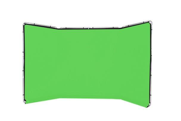 Lastolite Panorama Hintergrund 4m (Chromakey Grün)